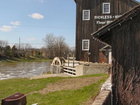 Wheel Mill Flour Mill Water Wheel